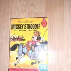 Tebeos: MICKEY STROGOFF EL CORREO DEL ZAR - WALT DISNEY - BRUGUERA. Lote 210037253