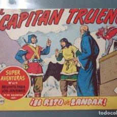 Tebeos: EL CAPITAN TRUENO 302 ORIGINAL. Lote 210059371