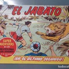 Tebeos: EL JABATO 196 ORIGINAL. Lote 210060088
