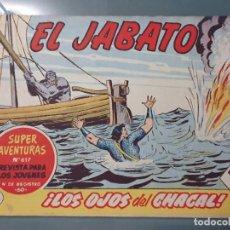 Tebeos: EL JABATO 195 ORIGINAL. Lote 210060111