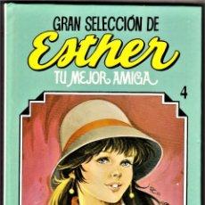Livros de Banda Desenhada: GRAN SELECCIÓN DE ESTHER Nº: 4 (INCLUYE ESTHER Nº 102, 108 A 116) BRUGUERA, 1983. Lote 210124820