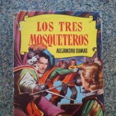 Tebeos: COLECCION HISTORIAS - Nº 10 - LOS TRES MOSQUETEROS -- BRUGUERA - 1ª EDICION 1956 --. Lote 210132288