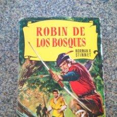 Tebeos: COLECCION HISTORIAS Nº 14 - ROBIN DE LOS BOSQUES -- BRUGUERA 3ª EDICION 1961 --. Lote 210133767