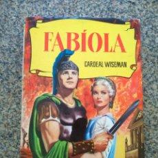 Tebeos: COLECCION HISTORIAS -- FABIOLA -- BRUGUERA 1965 --. Lote 210133887