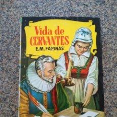 Tebeos: COLECCION HISTORIAS -- VIDA DE CERVANTES -- 2ª EDICION 1964 --. Lote 210135208