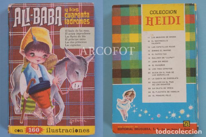 COLECCIÓN HEIDI - ALÍ BABÁ Y LOS CUARENTA LADRONES Y OTROS CUENTOS - EDITORIAL BRUGUERA 1966 (Tebeos y Comics - Bruguera - Historias Selección)
