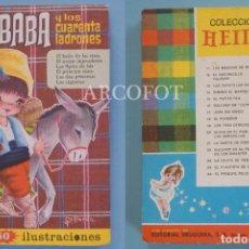 Tebeos: COLECCIÓN HEIDI - ALÍ BABÁ Y LOS CUARENTA LADRONES Y OTROS CUENTOS - EDITORIAL BRUGUERA 1966. Lote 210285513
