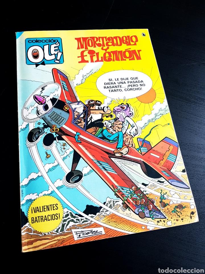 MUY BUEN ESTADO MOTADELO Y FILEMON 213 2° EDICION OLE BRUGUERA (Tebeos y Comics - Bruguera - Ole)