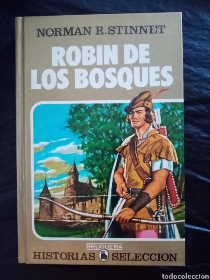 1984 LIBRO ROBIN HOOD_ EDITORIAL BRUGUERA_ COMIC, ILUSTRACIONES (Tebeos y Comics - Bruguera - Historias Selección)