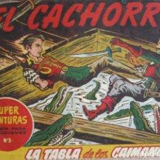 Tebeos: EL CACHORRO Nº 159. LA TABLA DE LOS CAIMANES, IRANZO. EDITORIAL BRUGUERA, ORIGINAL 1957. Lote 210359042