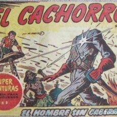 Livros de Banda Desenhada: EL CACHORRO Nº 161. EL HOMBRE SIN CABEZA, IRANZO. EDITORIAL BRUGUERA, ORIGINAL 1957. Lote 210359252