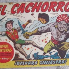 Livros de Banda Desenhada: EL CACHORRO Nº 176. DISPARO SINIESTRO, IRANZO. EDITORIAL BRUGUERA, ORIGINAL 1958. Lote 210359433
