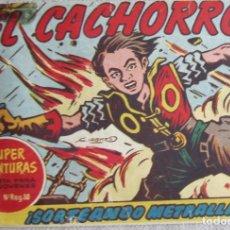 Livros de Banda Desenhada: EL CACHORRO Nº 177. SORTEANDO METRALLA, IRANZO. EDITORIAL BRUGUERA, ORIGINAL 1958. Lote 210359516