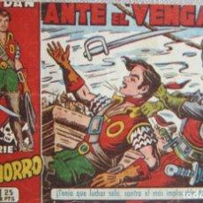 Livros de Banda Desenhada: EL CACHORRO Nº 157. ANTE EL VENGADOR, IRANZO. EDITORIAL BRUGUERA, ORIGINAL 1956. Lote 210359672