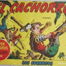 Tebeos: EL CACHORRO Nº 164. LOS CORRUCOS, IRANZO. EDITORIAL BRUGUERA, ORIGINAL 1958. Lote 210359760