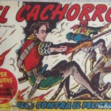Livros de Banda Desenhada: EL CACHORRO Nº 179. SOLOS CONTRA EL PELIGRO, IRANZO. EDITORIAL BRUGUERA, ORIGINAL 1958. Lote 210359798