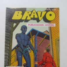 Tebeos: BRAVO Nº 66 - INSPECTOR DAN Nº 33 - EDITORIAL BRUGUERA - 1976 CX60. Lote 210368675