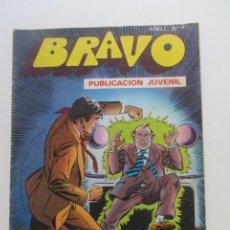 Tebeos: BRAVO Nº 4 - INSPECTOR DAN Nº 2 EDITORIAL BRUGUERA - 1976 MAS A LA VENTA MIRA TUS FALTAS CX60. Lote 210369256
