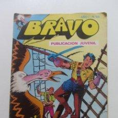 Tebeos: BRAVO Nº 63 EL CACHORRO Nº 32 EDITORIAL BRUGUERA - 1976 MAS A LA VENTA MIRA TUS FALTAS CX60. Lote 210369636