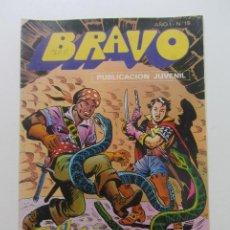 Tebeos: BRAVO Nº 19 -EL CACHORRO- Nº 10 EDITORIAL BRUGUERA - 1976 MAS A LA VENTA MIRA TUS FALTAS CX60. Lote 210369940