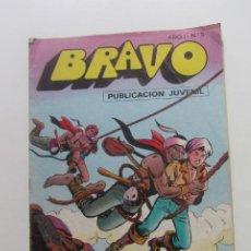 Tebeos: BRAVO AÑO I Nº 5 EL CACHORRO Nº 3 LAS AGUILAS N BRUGUERA - 1976 MAS A LA VENTA MIRA TUS FALTAS CX60. Lote 210370122