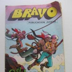 Tebeos: BRAVO AÑO I Nº 5 EL CACHORRO Nº 3 LAS AGUILAS N BRUGUERA - 1976 MAS A LA VENTA MIRA TUS FALTAS CX60. Lote 210370137