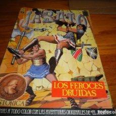 Tebeos: JABATO COLOR EDICION HISTORICA Nº 16 LOS FEROCES DRUIDAS. Lote 210435785