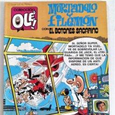"""Tebeos: MORTADELO Y FILEMÓN """"EL BALÓN CATASTRÓFICO"""" - COLECCIÓN OLÉ! Nº 256-M45 (SEP.1987) ~ ED. B. Lote 210480046"""
