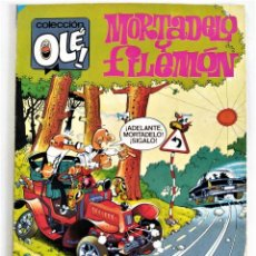 """Tebeos: MORTADELO Y FILEMÓN """"EL COCHECITO LERÉ"""" - COLECCIÓN OLÉ! Nº 309 (1ª ED. DIC.1985) ~ ED. BRUGUERA. Lote 210482032"""