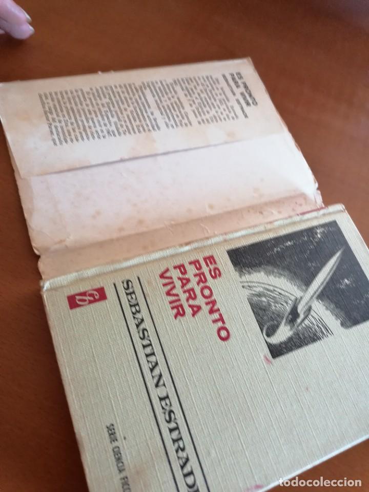 Tebeos: ES PRONTO PARA VIVIR * COLECCION HISTORIAS SELECCION * SEBASTIAN ESTRADE * BRUGUERA1971 - Foto 6 - 210527915