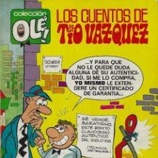 Tebeos: LOS CUENTOS DEL TIO VAZQUEZ. COLECCION OLE NUMERO 25 1ª EDICION 1971. Lote 210546067