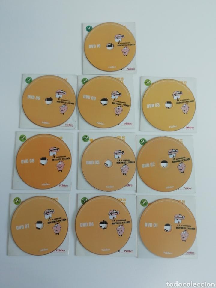 Tebeos: Colección completa DVDS... 50 aniversario de Mortadelo y Filemon - Foto 2 - 210555860