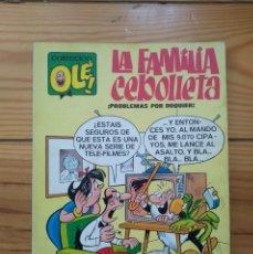 Tebeos: COLECCIÓN OLÉ Nº 4 - LA FAMILIA CEBOLLETA - 2ª EDICIÓN 1977 - D2. Lote 210565327