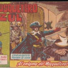 Tebeos: EL MOSQUETERO AZUL Nº 1: EL ENIGMA DEL MOSQUETERO. Lote 210567331