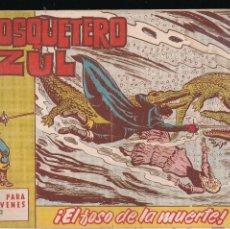 Tebeos: EL MOSQUETERO AZUL Nº 2: EL FOSO DE LA MUERTE. Lote 210567647