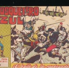 Tebeos: EL MOSQUETERO AZUL Nº 5: EL BAILE DE LOS CONDENADOS. Lote 210567752