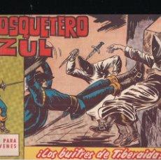 Tebeos: EL MOSQUETERO AZUL Nº 7: LOS BUITRES DE TIBERAIDA. Lote 210567835