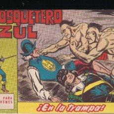 Tebeos: EL MOSQUETERO AZUL Nº 9: EN LA TRAMPA. Lote 210567886