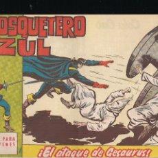 Tebeos: EL MOSQUETERO AZUL Nº 11: EL ATAQUE DE GESAURUS. Lote 210567926