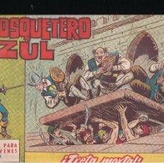 Tebeos: EL MOSQUETERO AZUL Nº 14: TRETA MORTAL. Lote 210662806