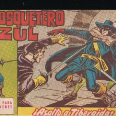 Tebeos: EL MOSQUETERO AZUL Nº 15: ASALTO A TIBERAIDA. Lote 210663050