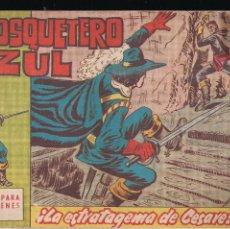 Tebeos: EL MOSQUETERO AZUL Nº 16: LA ESTRATAGEMA DE CESARE. Lote 210663769