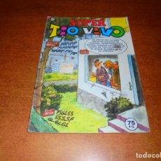 Tebeos: SUPER TIO VIVO Nº 116, CON ANACLETO, Dª LIO, Dª TECLA. PUBLICIDAD TOPSET Y SOBRE BALÓN. Lote 210702562