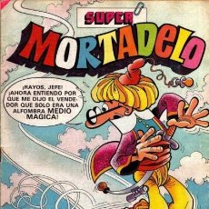Tebeos: SUPER MORTADELO-BRUGUERA- Nº 137 -TETE GUTAPERCHA-VICENTE TORREGROSA-1982-REGULAR-DIFÍCIL-LEA-3903. Lote 221611802