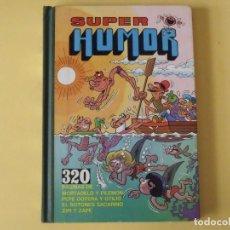 Livros de Banda Desenhada: SUPER HUMOR Nº 1. MORTADELO Y FILEMÓN, SACARINO, ZIPI Y ZAPE, PEPE GOTERA. EDICIONES BRUGUERA. 1981.. Lote 240758865