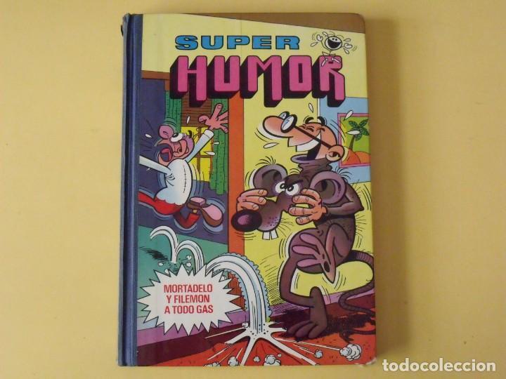 SUPER HUMOR Nº 12. MORTADELO Y FILEMÓN. EDICIONES BRUGUERA. 1981. (Tebeos y Comics - Bruguera - Super Humor)