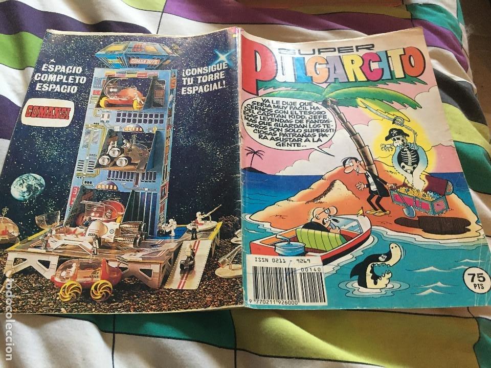 SUPER PULGARCITO Nº 140. BRUGUERA 1982 (Tebeos y Comics - Bruguera - Pulgarcito)