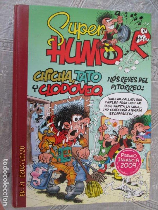 CHICHA , TATO Y CLODOMEO , LOS REYES DEL PITORREO - SUPER HUMOR Nº 49 - NUEVO (Tebeos y Comics - Bruguera - Super Humor)