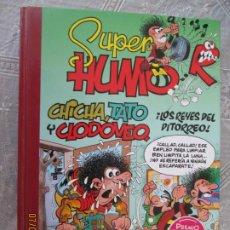 Tebeos: CHICHA , TATO Y CLODOMEO , LOS REYES DEL PITORREO - SUPER HUMOR Nº 49 - NUEVO. Lote 210772444