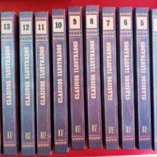 Tebeos: COLECCIÓN-COMICS-CLÁSICOS ILUSTRADOS-15 TOMOS-EDICIONES B-1992-EXCELENTE ESTADO-VER FOTOS. Lote 210794634
